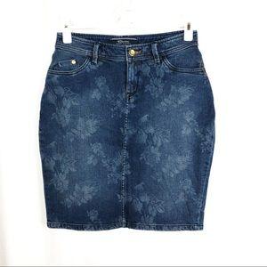 Denim Tommy Bahama Woman's 2 Denim Pencil Skirt